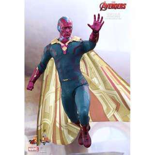 Hot Toys Age of Ultron Vision MMS 296 Avengers Tony Stark AOU Iron Man
