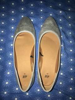 H&M Silver Doll Shoes