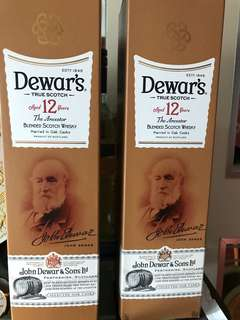 Dewar's 12 Years Old Blended Scotch Whisky 帝王
