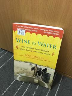 Wine to water - doc hendley