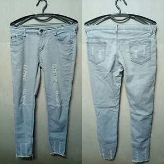 Ripped Jean-Size 28-29