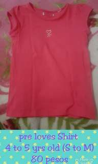 Pre love shirt