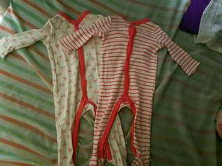 Bodysuits for baby girl bundle