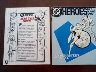 DC HEROES ROLE PLAYING GAME RPG