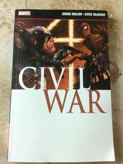 Civil War Comic Marvel