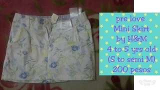 Pre love mini skirt