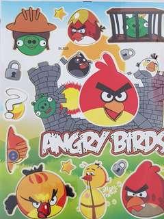 Princess stickers angry bird