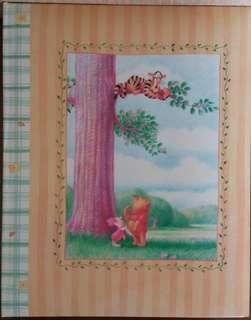 珍藏Disney Store Winnie the Pooh记事簿(送貼纸2張)