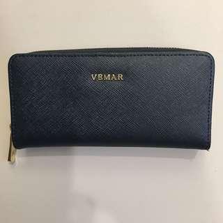 VEMAR長夾(深藍色)
