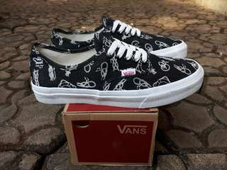 READY STOCK  PREMIUM BNIB  MADE IN CHINA  WAFFLE DT VANS AUTHENTIC MOTIF DENIM BLACK SIZE 40/41/42/43/44