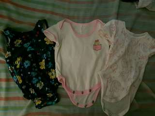 Onenies for baby girl bundle