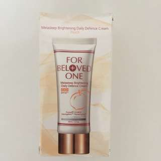 For Beloved One Melasleep Brightening Daily Defence Cream (new)