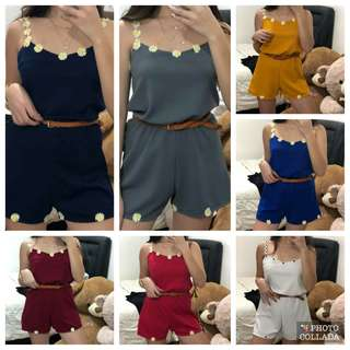 Daiay romper with belt