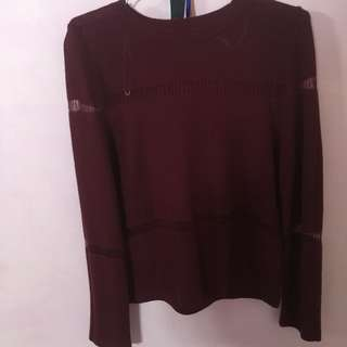 ColorBox Maroon Top