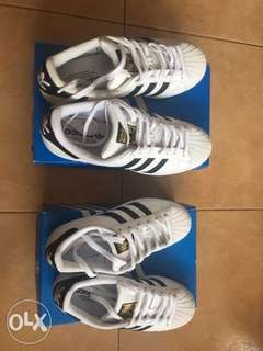 Couples' Shoes Adidas Superstar - White