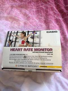 Casio Heart Rate Monitor