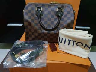 BRAND New Louis Vuitton Speedy 25 Bandouliere