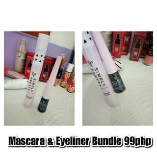 Bundle Simple Pretty Mascara and Eyeliner