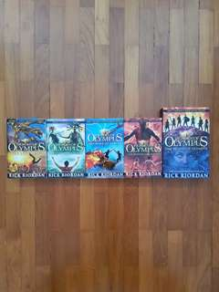 Heroes of Olympus Full Set by Rick Riordan