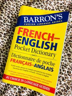 Barron's French Dictionary