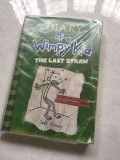 Diary Wimpy kid the last straw soft cover