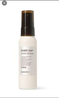 INNISFREE EVERY DAY NATURAL LINEN WATER 2