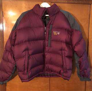 Puffer mountain hardwear down jacket