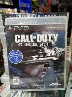 PS3 Call of Duty Ghosts (BNIB)