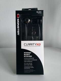 Monster ClarityHD Earbuds