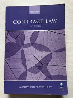 Contract law (Mindy Chen-Wishart)