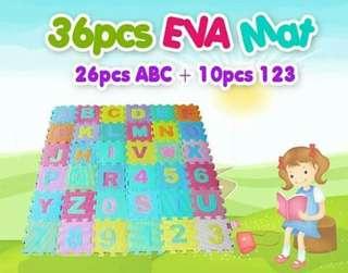 36 pcs Eva mat puzzle...