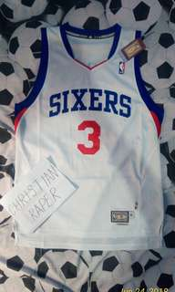 BNWT Adidas Allen Iverson Sixers Swingman Jersey