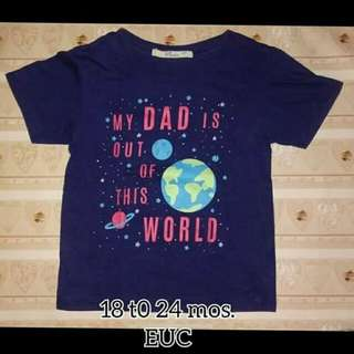 Boy Tshirt 2T