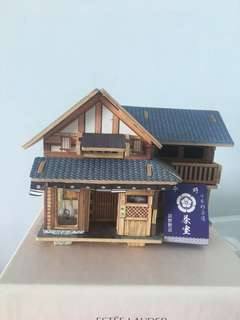 Handmade Japanese tea house (woodwork)