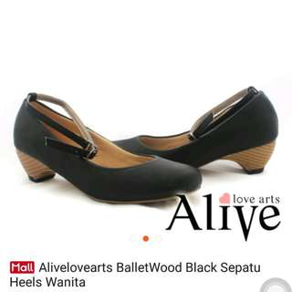 Alivelovearts BalletWood Black