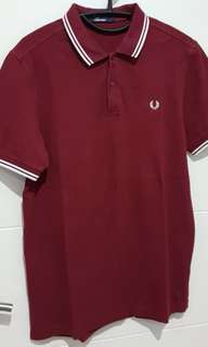 Fred Perry Red Shirt