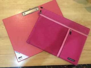 Popular writing clip board and file