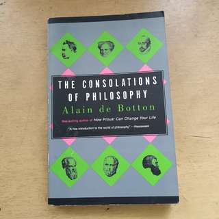 The Consolations of Philosophy by Alain de Botton book
