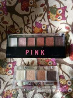 Everbilena Pink Eyeshadow Palette & Fashion21 Eyeshadow Bar