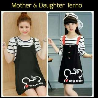 📚 New! Sale Price! Freesize: Mother: S - L, Daughter: Fits 4 - 7 years old