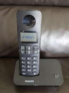 Phillips dual handset Cordless phone