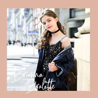 Brianna Bralette / Tanktop Lace