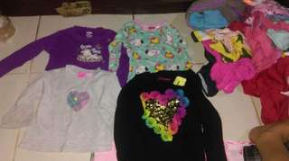 Pre-loved kids wear bundle samples