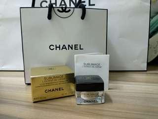 Chanel mini護膚品