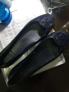 Tory burch reva jely shoes navy blue