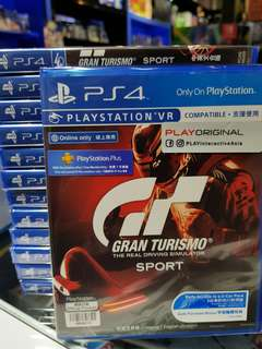 PS4 Gran Turismo Sport for your 2nd purchase