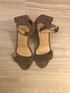 4-inch Gray Heels
