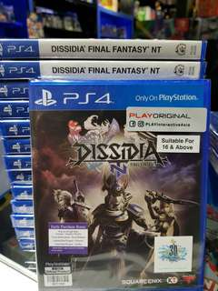 PS4 Dissidia Final Fantasy NT for your 2nd purchase