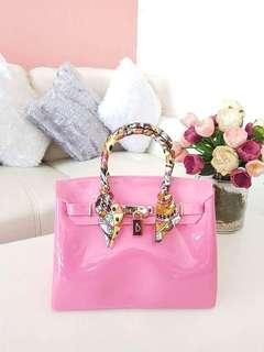 Jelly beachkin handbag/sling bag