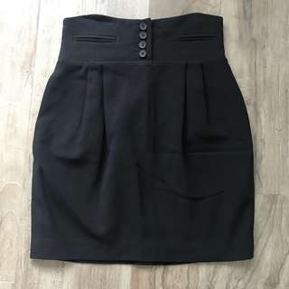 Club Monaco High Waist Mini